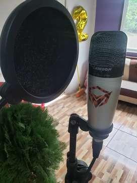 Microfono condensador Samson c01