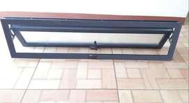 Ventana de Aluminio 100cm x 25cm deslizante