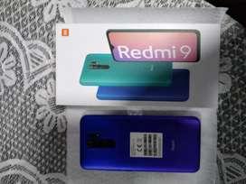 Xioami redmi9 nuevo