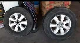 2 ruedas completas AMAROK 16' 245/70