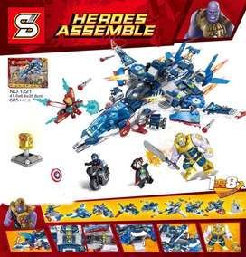 Nave tipo Lego avengers end game