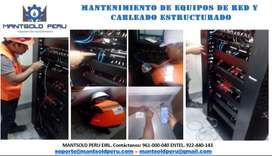MANTENIMIENTO E INSTALACION DE EQUIPOS Y PUNTOS  DE RED