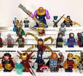 Mini figuras marvel