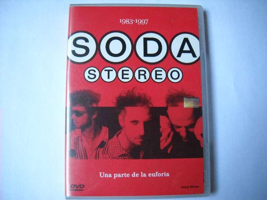 soda stereo una parte de la euforia dvd muy buen estado