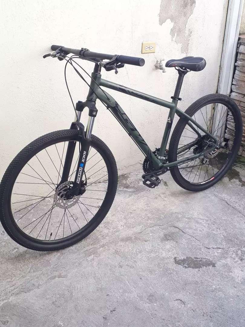 Bicicleta montañera GW  24 velocidades 0