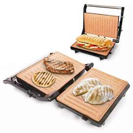 Asador grill y sandwichera
