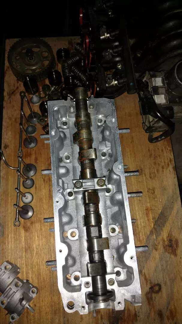 Tapa de cilindros de Fiat fire 1.4 8 v 0