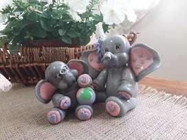 Adorno torta elefantitos