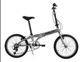 Bicicleta Plegable Nueva! Rodado 20