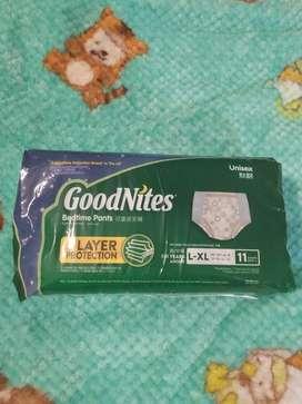Pañales Good Nites Talle Xl