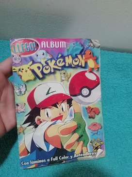 Album Pokemon con laminas a color