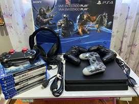 Super oferta de PlayStation 4 slim 500 GB pack completo