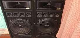 Amplificador y bafles de gran sonido 9/10