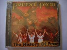 primal fear the history of fear cd + dvd sellado