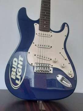 Guitarra Electrica Stratocaster Marca Budweiser