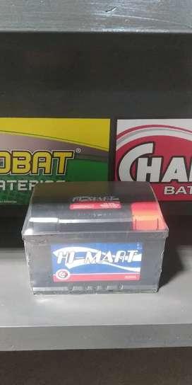 Batería 12 x 75 $6000 entregando la usada