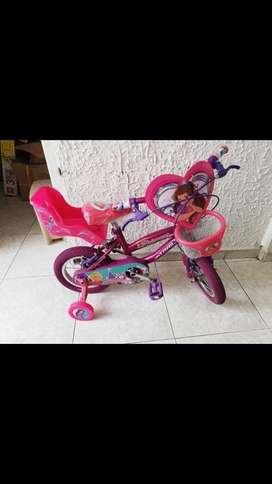 Se vende cicla para niñas