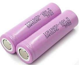 Bateria de litio 18650