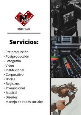 Servicios audiovisuales
