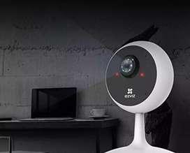 Camara IP Wifi Hik Vision Full HD 1080 2mega pixeles vision nocturna altavoz Envio incluido