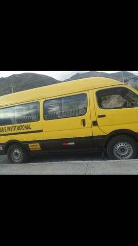 Oportunidad se vende furgoneta fotón c1 17pasajeros