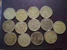 Monedas modernas de 1DOLLAR