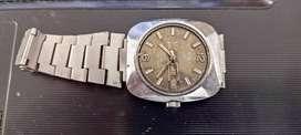 Reloj Seiko Shocktested Antiguo Sin Vidrio !!