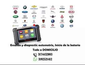 Servicio escaneado y diagnostico automotriz a domicilio
