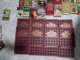 Venta de enciclopedia y libros