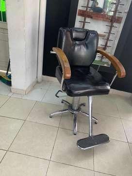 Silla de barberia hidraulica barata