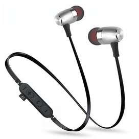 Auriculares Bluetooth T16 con micrófono, auriculares con reproductor de MP3