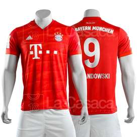 Camiseta Original Bayern Munich 19-20 Lewandowski futbol