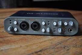 Interfaz M-Audio pro