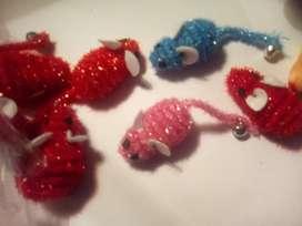 Ratoncitos para gatos juguetes