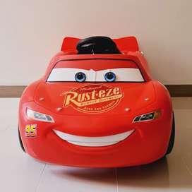 Carro Eléctrico Rayo Mcqueen Color Rojo