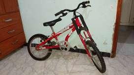 Bicicleta de niño marca royal
