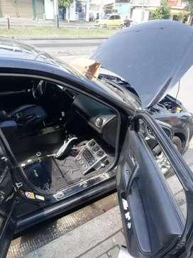 Instalación de sonido para carros y alarmas en autos.