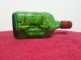 Botella con Barco en Su Interior