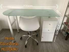 Mesa Escritorio ideal Para Hogar Teletrabajo Oficina