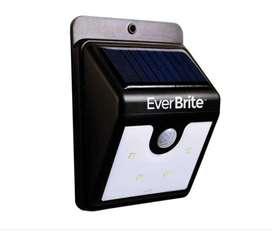 Luz Led Exterior Energia Solar Sensor Movimiento +obsequio