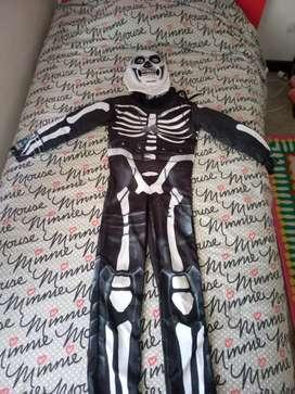 Disfraz esqueleto fornite