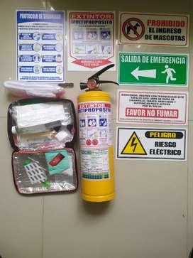 Kit seguridad local comercial