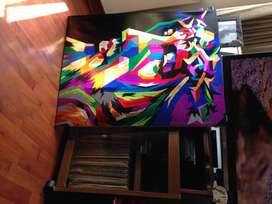 cuadros en arte pop hechos a mano