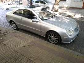 Mercedes benz 320 clk coupe año 2005 elegance automatic full permutaria calle 62 entre 3y4 la plata ciudad
