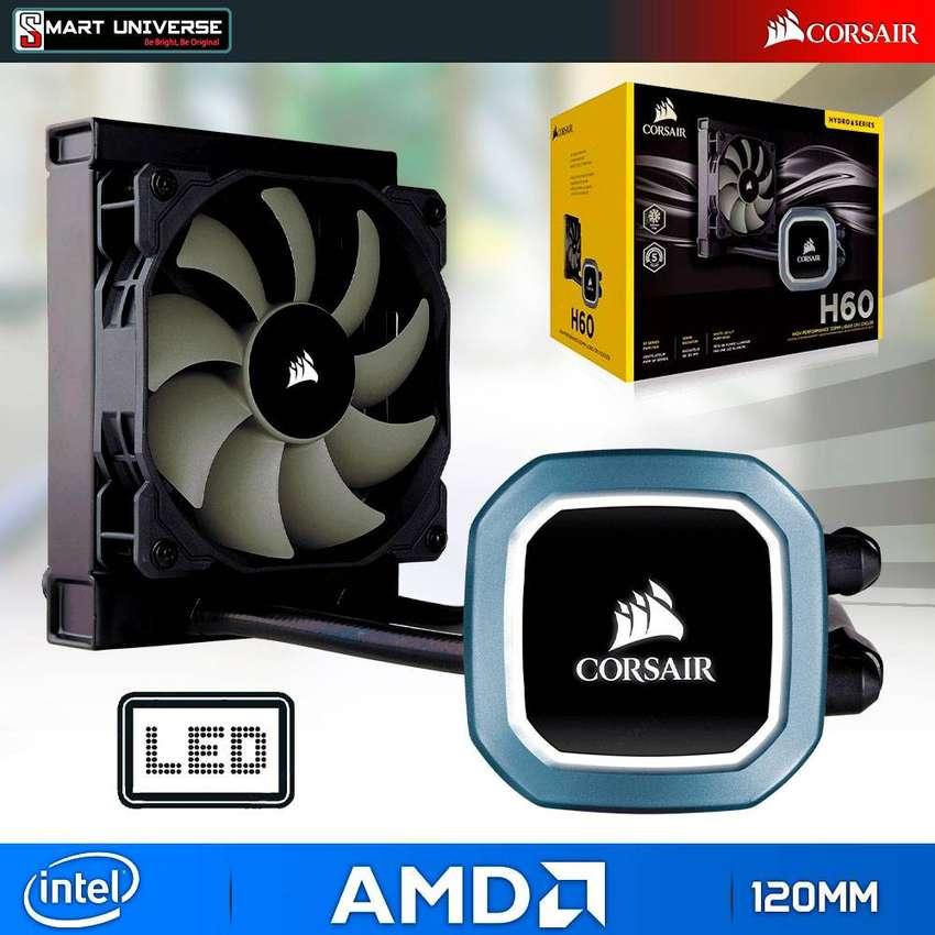 Cooler Enfriador líquido CPU Corsair H60 Intel AMD 120mm FAN 0