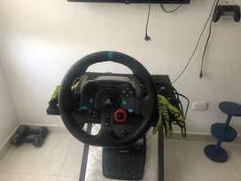 Vendo volante logitech g29
