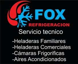 Servicio tecnico heladera familiares y comerciales