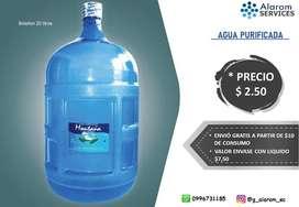 Botellones de Agua 20 Litros Montaña