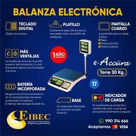 Balanzas Electrónicas
