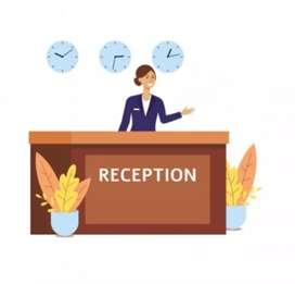 Realizo turno de recepción, o atención al cliente